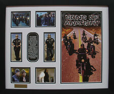 Sons of Anarchy Limited Edition Framed Signed Memorabilia (w)