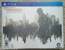 Tom Clancy's The Division Collectors Edition PS4 BRAND NEW limited collector