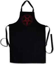 BAPHOMET PENTAGRAM SIGN GRILLSCHÜRZE KOCHSCHÜRZE - Pentagramm Circle 666 Satan