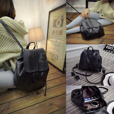 Fashion Women Leather Backpack Rucksack Travel School Bag Shoulder Bags Satchel