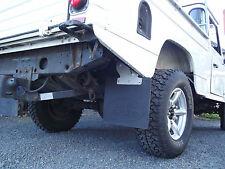 Defender Hi-Cap 110 130 Heavy Duty Rear Mudflap kit + Mud Shield Mud Flap Mount