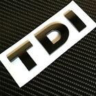NEW TDI Boot Badge Black Gloss For VW GOLF POLO LUPO PASSAT MK4 MK5 MK6 GT TURBO