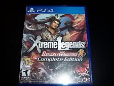 Replacement Case (NO GAME) EXTREME LEGENDS DYNASTY WARRIOR 8 PS4 Playstation 4
