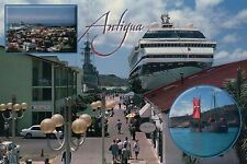 Cruise Ship at Heritage Quay, Antigua, West Indies, Caribbean, Island - Postcard