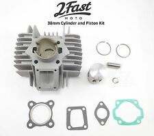 2FastMoto Tomos A35 50cc 38mm Cylinder and Piston Kit Golden Bullet TX50 Revival