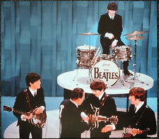 THE BEATLES POSTER PAGE . 1964 THE ED SULLIVAN SHOW JOHN LENNON . J24