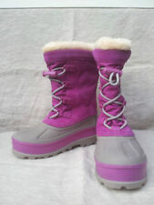 Ugg Australia Bobbey Cactus Flower 3288 Snow, Cold Weather Boots Kids Size 2~NEW