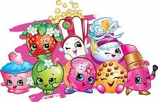 Shopkins Round Edible Party Cake Image Topper Frosting Icing Sheet