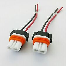 2x  9005 HB3 Ceramic Socket Bulb Holder Replacement Connector WirDe Harness