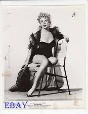 Dolores Donlon busty sexy leggy VINTAGE Photo The Long Wait
