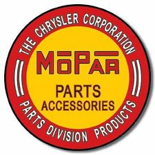 MOPAR Parts Auto Schild Muscle Car V8 Rod Garage Reklame
