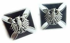 Germany German IRON CROSS Eagle Military Army Suit Work Cufflinks Cuff Link Set