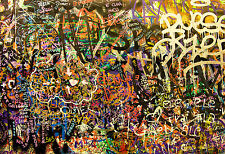 graffiti wall urban street art PRINT POSTER a1 size for frame