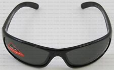 Bolle Anaconda Sport Shiny Black Frame Polarized Smoke TNS Lens Sunglasses 10338