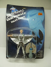 Quicksilver Silverhawks action figure toy 80s new on card TV cartoon Kenner 1986