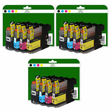 12 Ink Cartridges for Brother MFC J6720DW J6920DW non-OEM LC123 V3