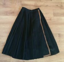 Stunning womens vintage 70's pleated/wrap skirt from Bill Gibb. Size 12UK. Great