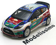 1:18 Minichamps Ford Fiesta RS WRC Winner Rally Australia 2011