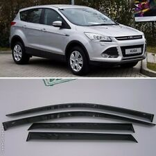 For Ford Kuga/Escape 2012-2015 Window Side Visors Sun Rain Guard Vent Deflectors