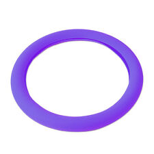 Purple Silicone Car Steering Wheel Cover fits Toyota Corolla VW Golf Ford F-Ser
