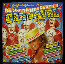 Various De Daverende Dertien Carnaval LP Mint- 1986 CNR 495.063 Stereo Clown