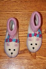 ❤️ Girls House Slippers Shoes by Garnet Hill; Size 11