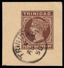 "TRINIDAD - c. 1890 Queen Victoria ""Postal Stationary Card"" (pa73728)"
