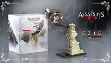 ASSASSIN'S CREED II 2 Leap of Faith Ezio Pvc Figure Ubisoft 39 cm videogame
