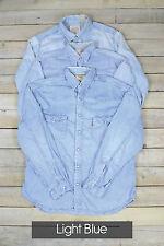 Vintage Herren Levi Strauss Langärmlig Jeans-hemden XS, S, M, L, XL, XXL