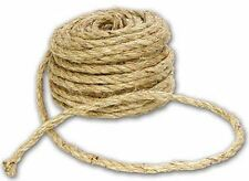 30m Mtrs 2 Ply Thick Natural Sisal Hessian Burlap Twine String Rustic Jute Cord