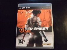Replacement Case (NO GAME) REMEMBER ME  PLAYSTATION 3 PS3