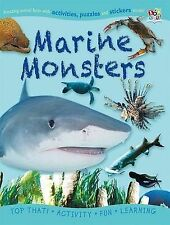 Sticker Activity Book - Marine Monsters (Puzzle Activity Sticker Books), Nat Lam
