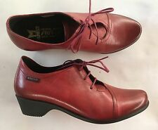 Chaussures lacées Méphisto neuves rouges 37,5