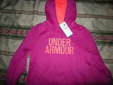 Brand New Misses Purple & Pink Under Armour Cold Gear Hoodie, S