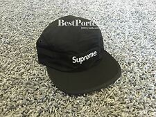 Supreme Mesh Pocket Camp Cap Hat Black Box Logo Tee Air Max Palace CDG 6 S Logo