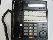 Panasonic KX-T7431 12-Button Digital Business Hybrid Phone System - Black