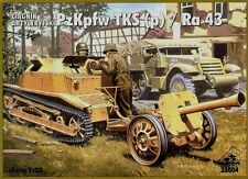 RPM 35004 Tractor Pzkpfw Tks (P) & Ra 43 1/35 model kit maqueta