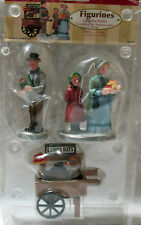 Lemax 3 Piece Ladies Hat Peddler Christmas Village Figurine Set 92645