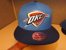 New Oklahoma City Thunder Mens Mitchell & Ness Fitted size 7 1/2 Cap Hat