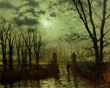 At The Park Gate John Atkinson  Grimshaw  24'  CANVAS