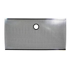 07-17 Jeep JK Wrangler Black Bug Screen Mesh Stainless Grille Insert Cover Grill