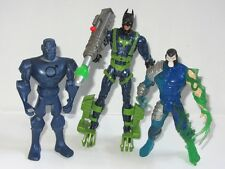 DC BATMAN  Toy Figure Set  BATMAN vs BANE & MECHANICAL METAL MAN
