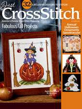 JUST CROSS STITCH Magazine:  September - October 2015 Issue