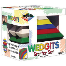 New Wedgits Building Blocks Starter Set for 2 Years Old and Up