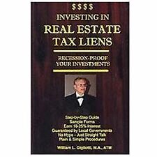 Investing in Real Estate Tax Liens : Recession Proof Investments. Earn...