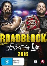 WWE: Roadblock 2016 - End of the Line NEW R4 DVD