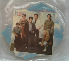 "H2O - Just Outside Of Heaven  ~7"" Vinyl *SHAPED PICTURE DISC* *MINT*"