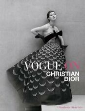 Vogue on Christian Dior by Charlotte Sinclair Hardcover Book (English)