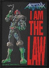 ANTHRAX - Aufnäher Patch - I am the law 7x10cm