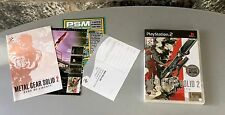 VINTAGE# PS2 PLAYSTATION 2 METAL GEAR SOLID 2 SONS OF LIBERTY PAL ITA